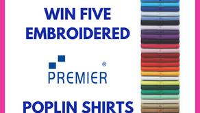 Win 5 Premier poplin shirts or blouses