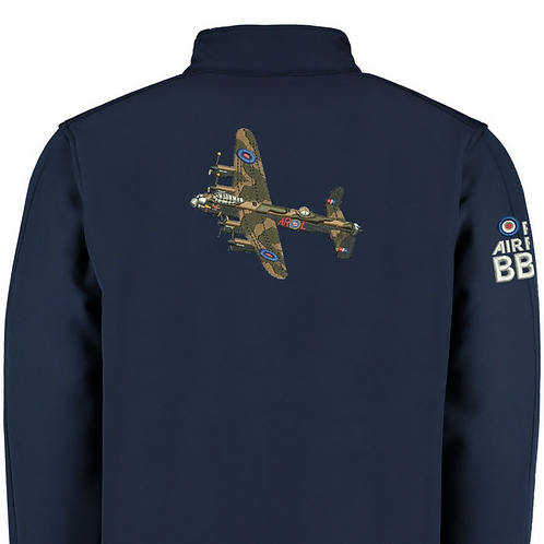 Battle of Britain Memorial Flight PA474 Lancaster Softshell Jacket