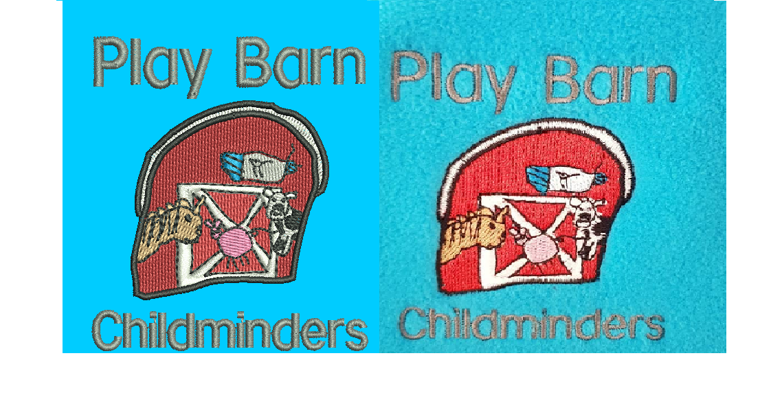 Playbarn childminders embroidery digitisation comparison