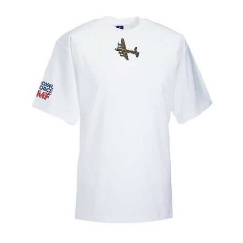 Battle of Britain Memorial Flight PA474 Lancaster T-shirt In White