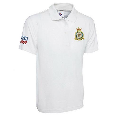 Typhoon Display Team badge and logo polo shirt