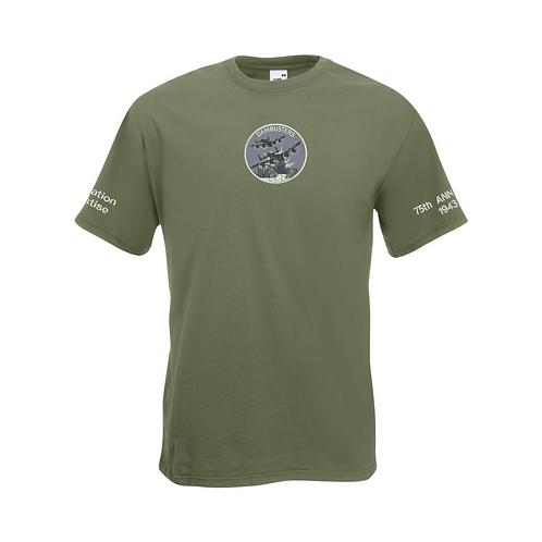 Dambusters 75th Anniversary T-Shirt -Water Design