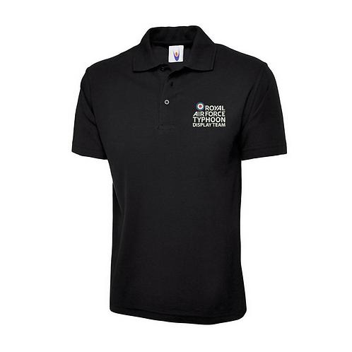 Typhoon Display Team logo polo shirt
