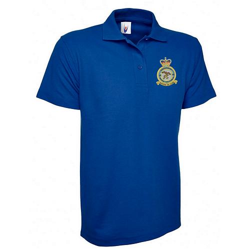 Typhoon Display Team badge polo shirt