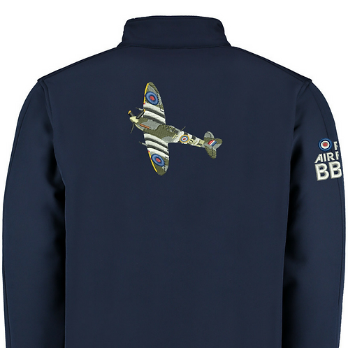 Battle of Britain Memorial Flight AB910 Spitfire Softshell Jacket
