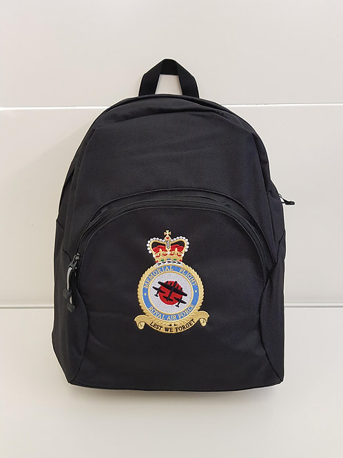 Battle of Britain Memorial Flight badge rucksack