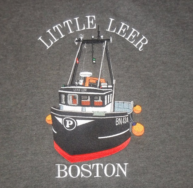 Little Leer Boston Shani's Embroidery