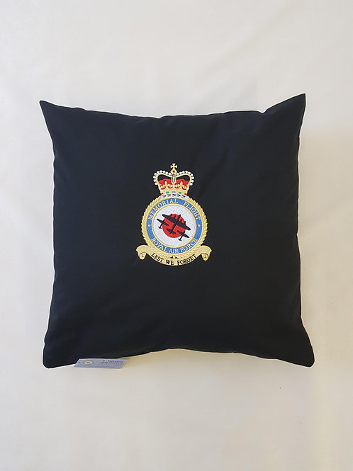 Battle of Britain Memorial Flight badge cushion