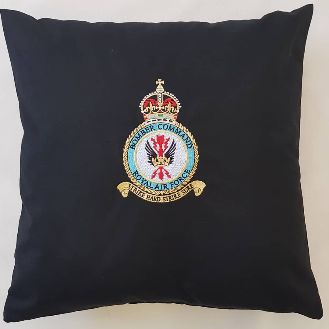 Shani's Embroidery bomber command squadron badge