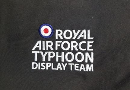 Typhoon display team Shani's Embroidery