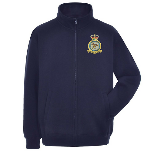 Typhoon Display Team badge full zipped sweatshirt