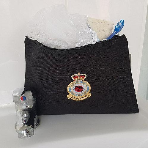 Battle of Britain Memorial Flight badge wash bag