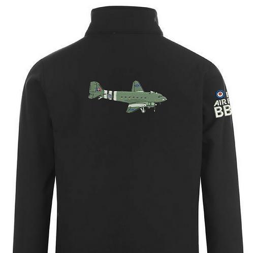 Battle of Britain Memorial Flight ZA947 Dakota Softshell Jacket