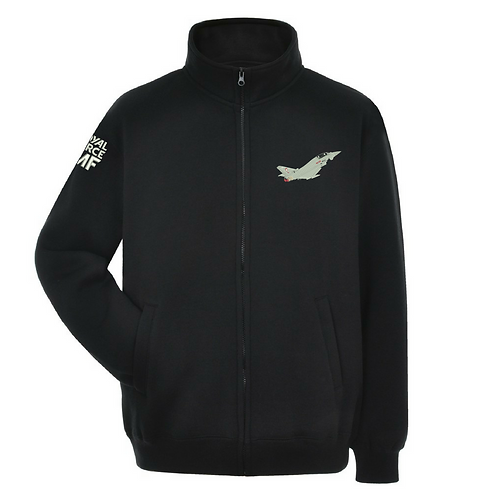 Typhoon Display Team FGR4 Typhoon full zipped sweatshirt