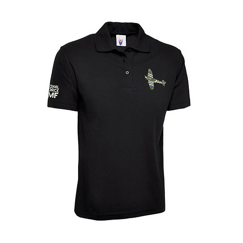 Battle of Britain Memorial Flight AB910 Spitfire Polo Shirt
