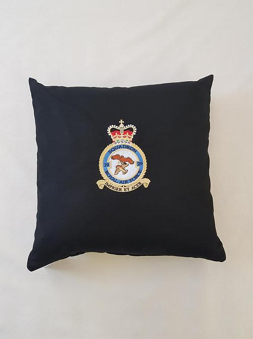 RAF Typhoon Display Team 29 Squadron badge cushion cover