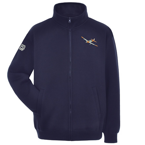 Britain Memorial Flight WK518 Chipmunk full zipped sweatshirt