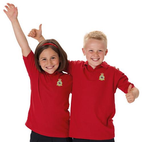 Battle of Britain Memorial Flight badge children's polo shirt