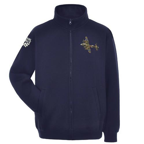 Battle of Britain Memorial Flight PA474 Lancaster full zipped sweatshirt