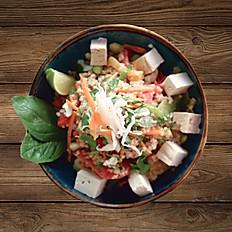 Quinoa mit Tofu
