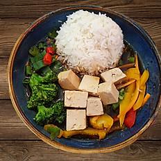 Teriyaki mit Tofu