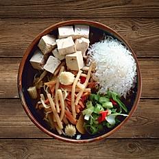 Zitronengras mit Tofu