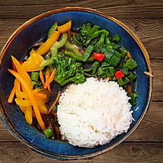 Teriyaki mit Gemüse