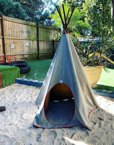 Outside Baby Play Area