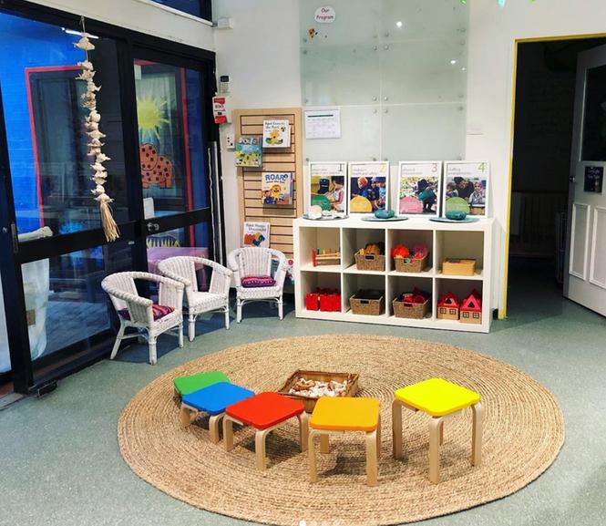 Inside Play Area