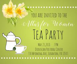 new Mary's Way Tea Party May 2018