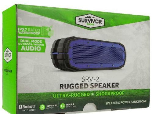 SURVIVOR RUGGED BLUETOOTH SPEAKERS