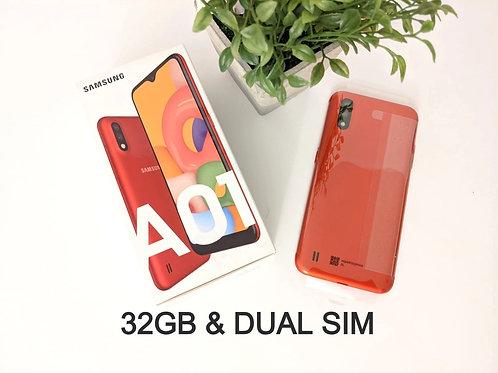 Samsung Galaxy A01 32GB RED Unlocked