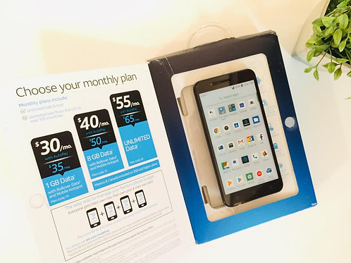 """AT&T Axia 5.5"""" Screen with 16GB Memory - UNLOCKED"""