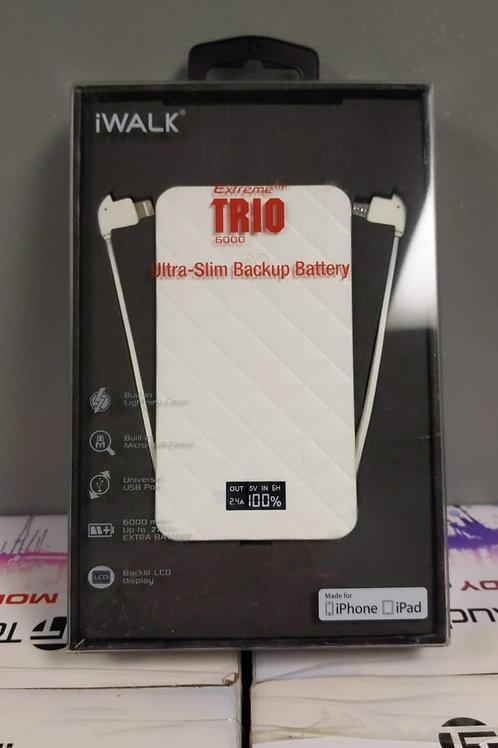 iWALK BATTERY PACK 6000 MAH BUILT IN USB APPLE CERTIFIED