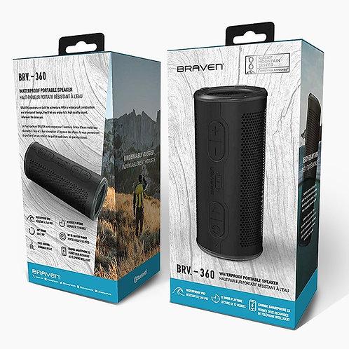 Braven New 360 Waterproof Bluetooth Speaker