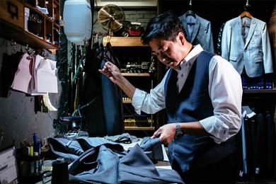 852 Tailor House:香港老西裝裁縫師的第二個春天