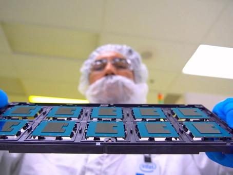 Intel, Arizona'da İki Çip Fabrikasının Temelini Attı