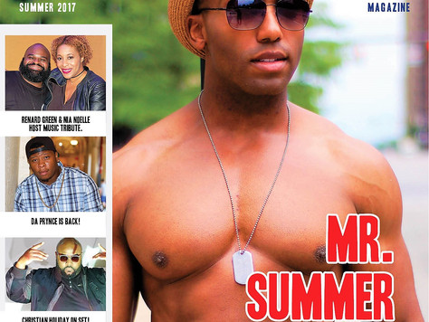 NEW Summer Issue with Model C. Russell III