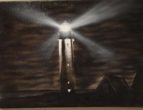 night light ($225) 18x24 original acryli