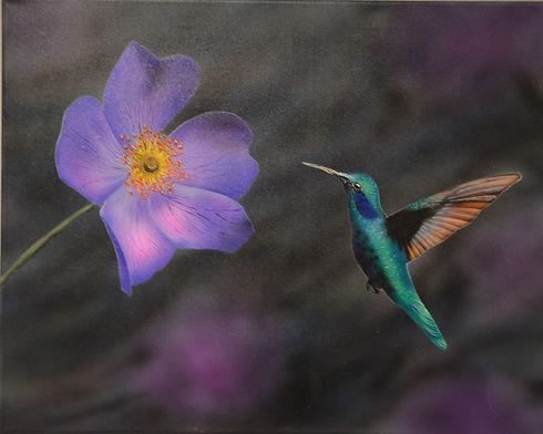 purple nectar ($250) 16x20  original acr