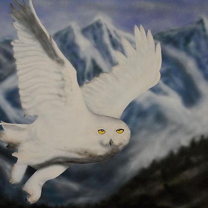 Eye see you  ($275) 24x36 original acryl