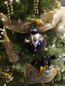 gepersonaliseerde kerstbal 6 kerstboom huren kerstbomen