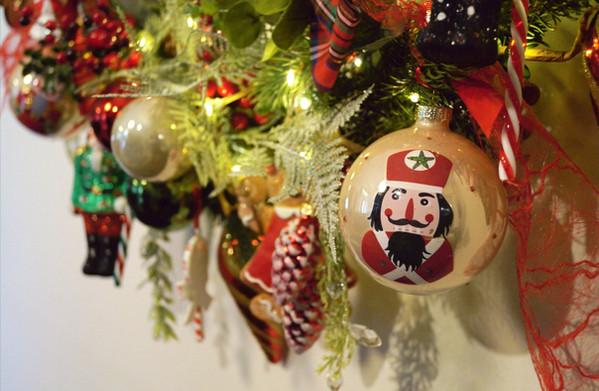 kersthoepel old school christmass detail