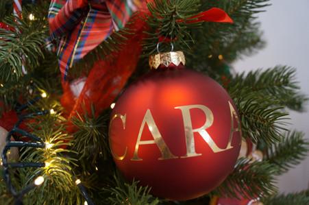 gepersonaliseerde kerstbal 3 kerstboom huren kerstbomen