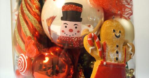 Kerstvaas old school christmas detail 2