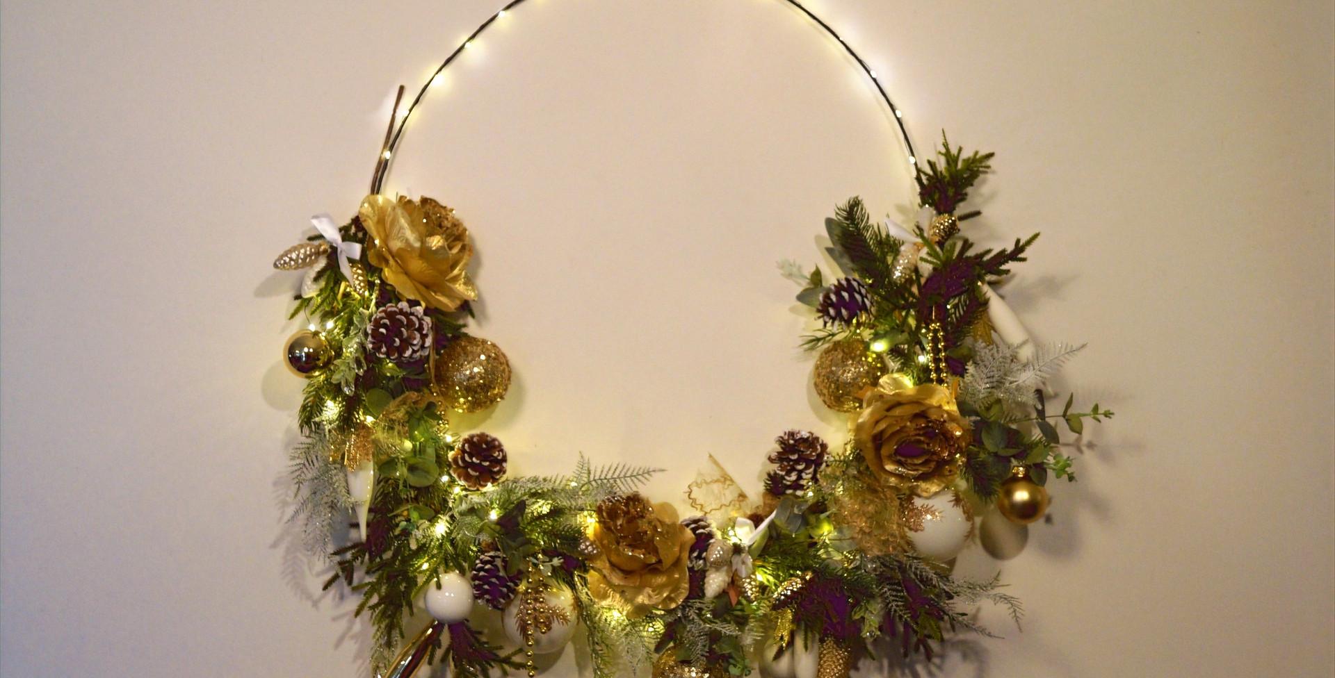 kersthoepel golden glow