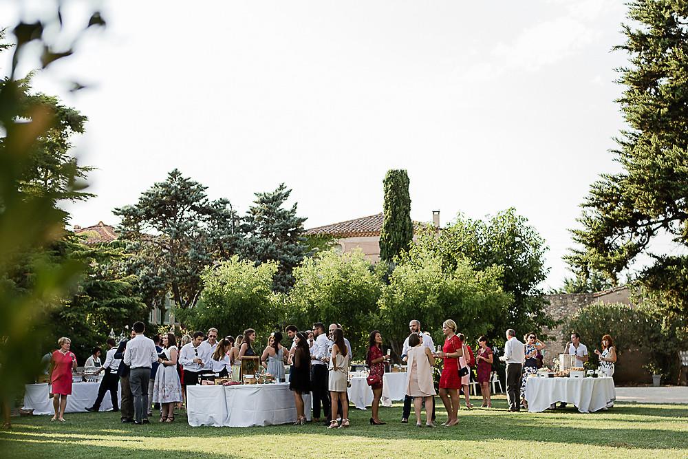 cocktail mariage au domaine fon de rey - les moments d'où photographie