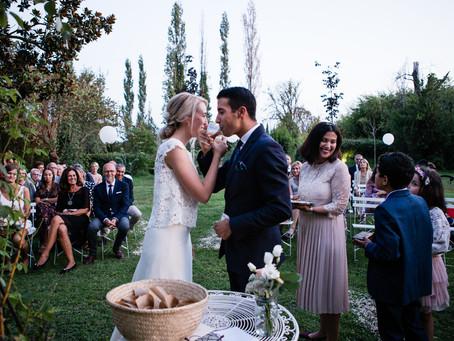 Mariage franco-marocain en Arles, au Mas Saint Florent