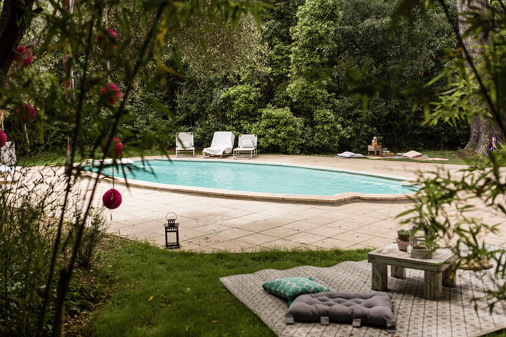 les moments d ou - garden party au clos herminier -detail decoration - photographe mariage boheme montpellier camargue
