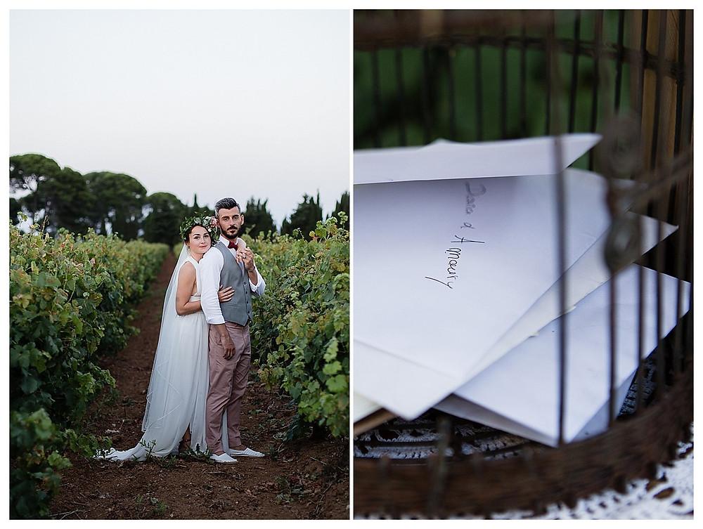 photos couple mariage au domaine fon de rey - les moments d'où photographie